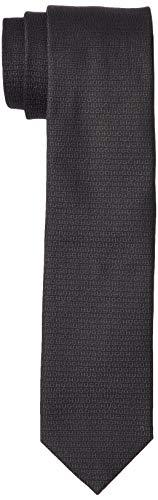 HUGO Mens Tie cm 6 Necktie, Black (2), ONESI