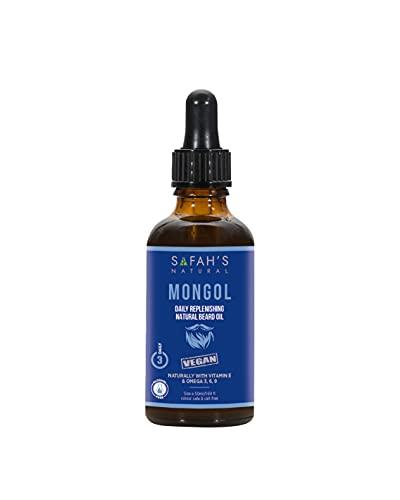 Safah's natural Aceite de barba de mongol, 50 ml
