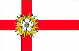 5ft x 3ft (150 x 90 cm) West Riding Of Yorkshire 100% Polyester Material Flag by Top Brand