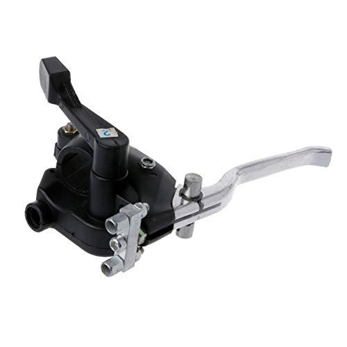 XWSQ Universal Dual Freno Thumb Thumb Throttle Palanca Mini 2 Stroke ATV Quad 4 Wheeler 43cc 47cc 49cc 7/8'Manillar Thumb Thumb Motorbike Brake Palanca manetas Moto