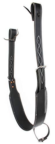ProRider USA Challenger Western Horse Leather Rear Flank Back Saddle Cinch w/Billets 9758BK
