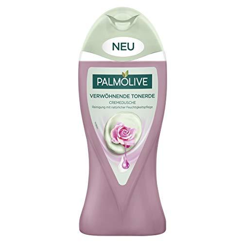 Palmolive Verwöhnende Tonerde Duschgel mit Rosenöl, 3er Pack (3 x 250 ml)
