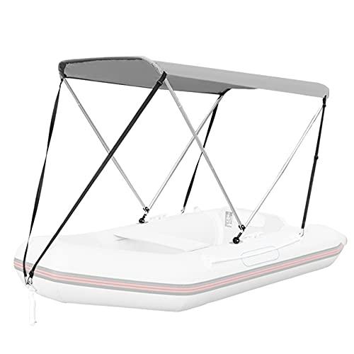 ESUHUANG Cubierta del Barco Boat a Prueba de Agua Bimini Top Tap Taper a Prueba de Agua Anti-UV Barco Toldo Toldo Canoa Surf Tent Sun Shade