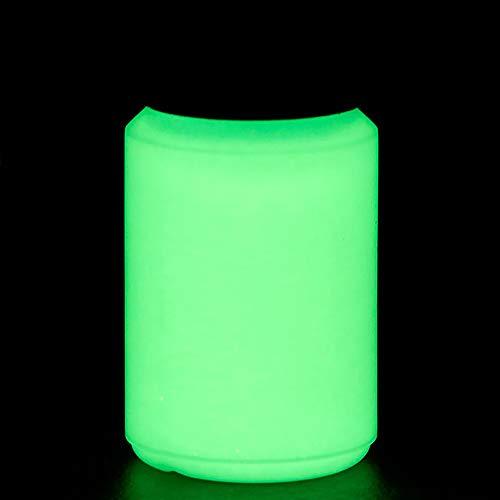 NighTec nachleuchtende Nachtfarbe 100 ml Leuchtfarbe (gelb-grün)