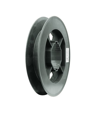 Schellenberg 11900 Gurtscheibe Maxi, für 60 mm Achtkantwellen, Durchmesser 19 cm