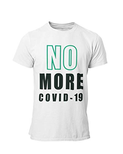 NO More COVID Unisex Men's Jersey Short Sleeve Crew Neck T-Shirts