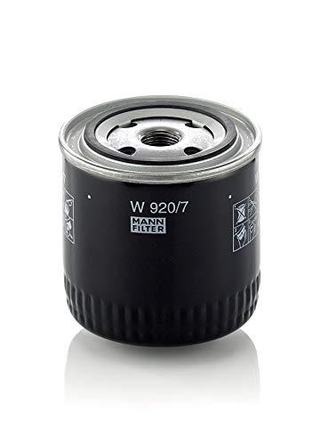 Original MANN-FILTER Ölfilter W 920/7 – Getriebefilter – Für PKW und Nutzfahrzeuge