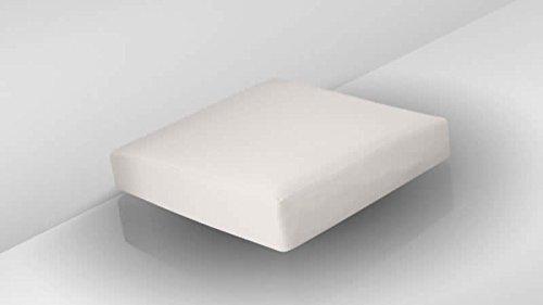talfa Auflage inkl. Bezug in Crema - Cube Sitzauflage 75x75cm