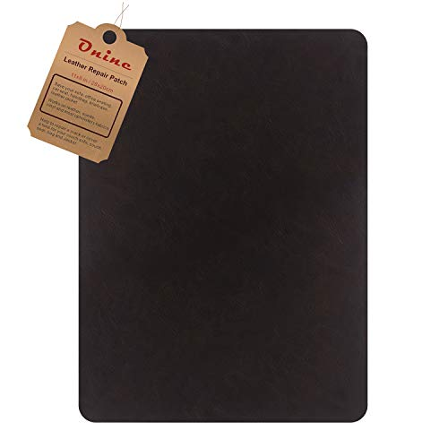 Leather Repair Patch,Self-Adhesive Couch Patch,Multicolor Available Anti Scratch Leather 8 X11 Inch Peel and Stick for Sofas, car Seats Hand Bags Jackets (Chocolate Brown)