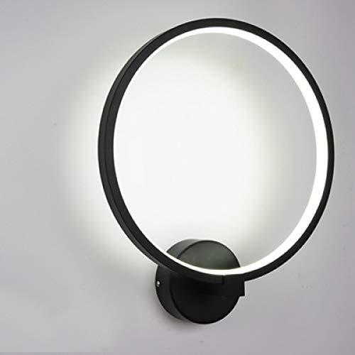 Lámparas de pared interior blanco negro iluminación arte minimalista sconce interior con angel bird home decoración pared warmwhite