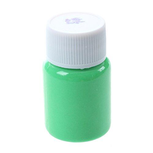 CKMSYUDG - Vernice acrilica luminosa illuminata al buio, 20 g, colore verde