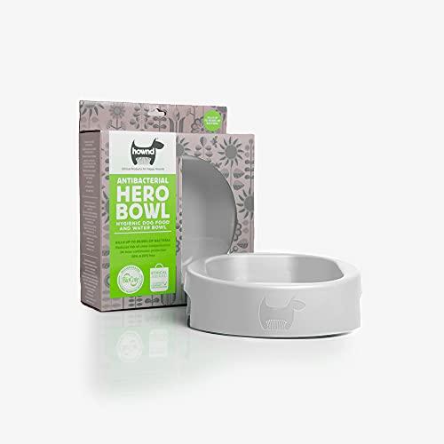 HOWND Hero Bowl – Cuenco higiénico para comida y agua para perros –...