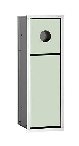 Emco 973027930 Hygienebox / Abfallkorb Asis Up-Modul 150, chrom / schwarz
