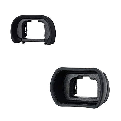2 Packs Eyecup Eyepiece Eyeshade for Sony a7III a7II a7 a7R IV a7R II a7R III a7S II a9 a58 a99 II Viewfinder Replaces Sony FDA-EP18 FDA-EP16 FDA-EP15 Eye Cup