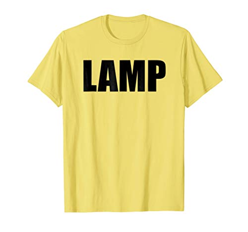 Lamp Costume Moth Meme Couple Fun Halloween Party T-Shirt