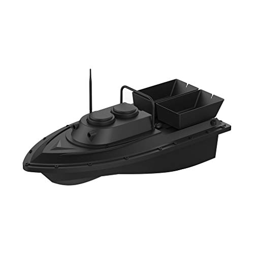 Ferngesteuertes Boot, Smart Fishing Tool RC Boot Schiff Polizeiboot Bootsköder Digitale Funkfernsteuerungsgerät Spielzeug RC Boot mit 7,4 V 5200 mAh und Nachtsicht Light , Fernbedienung 400-500mm (US)