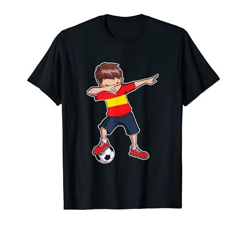 Spanien Trikot Fußball Fan Dabbing Jungs / Herren T-Shirt