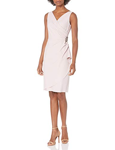 Alex Evenings Women's Mother of The Bride, Blush, 6