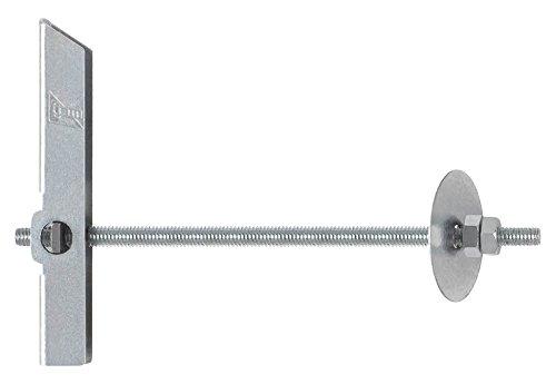 INDEX Fixing Systems VBAESM04 [BA-ES] Basculante por gravedad para la fijación de elementos ligeros en falsos techos/GRAVITEX. Espiga Ø12, M4, diámetro de 12 mm