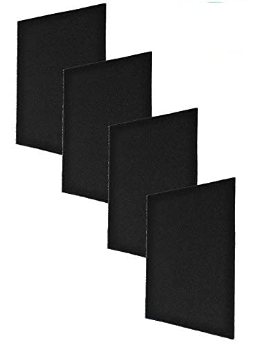 RV AC Foam Filter 4 Pack 15×15×1/4inch Compatible with Winnebago Coleman 108892-01-703 6798A3761