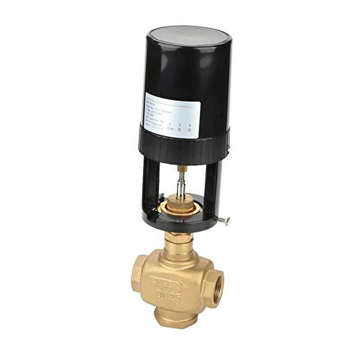 CLJ-LJ Válvula eléctrica - DN25 2 vías que regula la válvula integral proporcional de la válvula eléctrica para el aire acondicionado central
