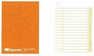 アピカ フィグラーレ 付箋式リストメモ 120×85 チェックリスト 橙 ME510M / 10セット