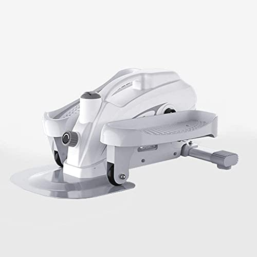 ZJDM Mini Zapatillas ovaladas de Escritorio con Pedal Ovalado Paso a Paso Debajo de la Mesa, Monitor LCD, Movimiento silencioso, diseño único