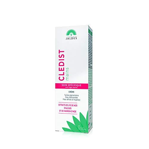 CLEDIST MAINS 50 ml | Spezifische Anti-Aging-Handpflege | Braune Flecken, trockene und verfeinerte Haut, sichtbare Äderchen an den Händen | Für ein jüngeres Aussehen der Hände