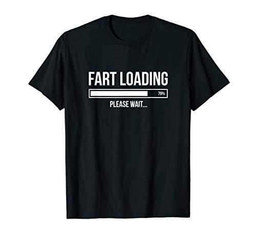 Fart Loading Funny Joke T-Shirt