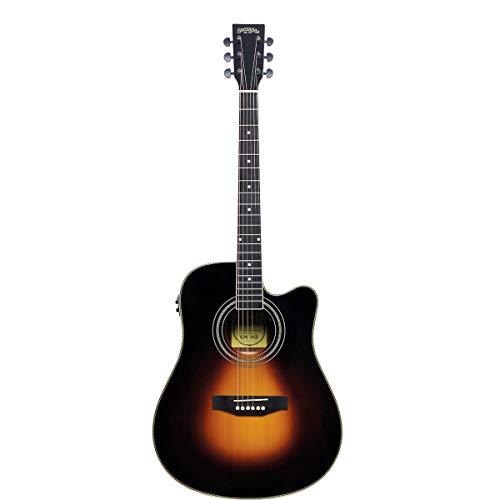 Santana LA-100EQCW SB Sunburst - Guitarra acústica