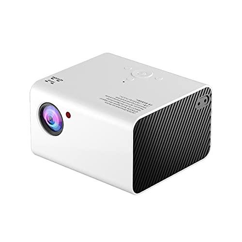 BOXIANGY Proyector doméstico Inteligente HD 1080P para el hogar Proyector doméstico portátil