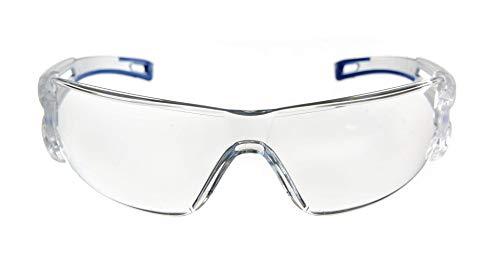 Dräger Schutzbrille X-pect 8330 | Leichte einstellbare Sicherheitsbrille | Für Baustelle, Werkstatt, Fahrrad-Fahren, Joggen | Klar, Kratzfest und beschlagfrei | 10 St. - 2