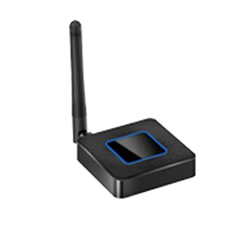 GHSJK Receptor HDMI Inalámbrico MHL Adaptador De Dongle De Pantalla WiFi para iPhone Android Micro USB Tipo C Teléfono Móvil Miracast HDTV TV Coche(Size:2.4G+5G)