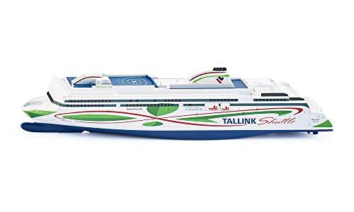 SIKU 1728, Tallink Megastar Fähre, 1:1000, Metall/Kunststoff, Weiß/Blau/Grün, Vielseitig einsetzbar