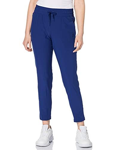PUMA Studio Woven Tapered Pant Chándal, Mujer, Elektro Blue, XL