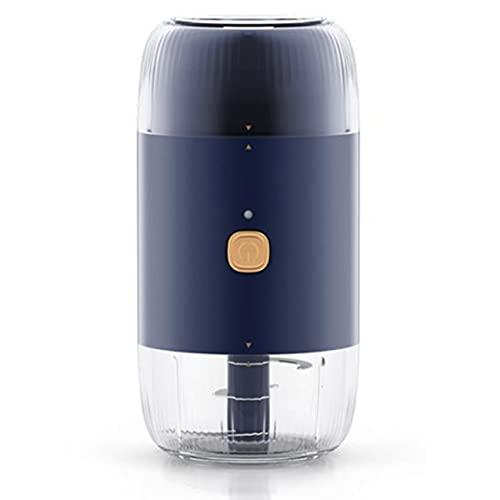 BOINN Electric Garlic Chopper, Household Baby Food Supplement Machine USB Charging Garlic Powder Electric Meat Grinder
