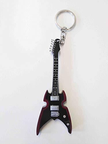 Gitarre Schlüsselanhänger: Paul Stanley Silvertone Apokalypse Pro