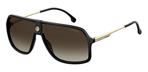 Carrera 1019/S Gafas, Black/Bw Marrone, 64 Unisex Adulto