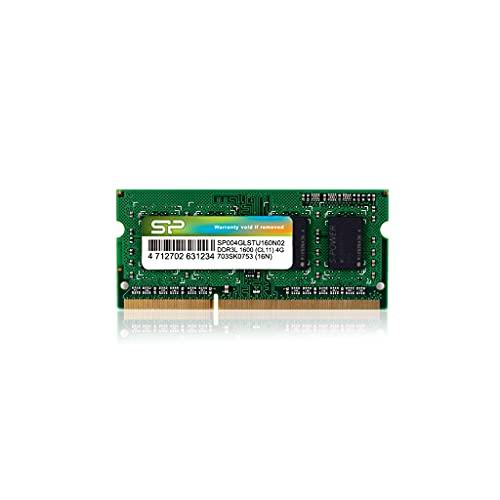 シリコンパワー ノートPC用メモリ 1.35V (低電圧) DDR3L 1600 PC3L-12800 4GB×1枚204Pin Mac 対応 永久保...