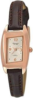 ساعة نساء من اوماكس, جلد, انالوج بعقارب, OMKC61426Q08