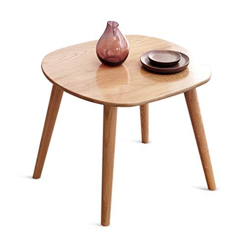 Tables Table Basse Table De Téléphone Table De Chevet Coin Nordique Côté En Bois Massif Table Minimaliste Moderne Salle De Séjour Canapé Vert Tables de dos de canapé