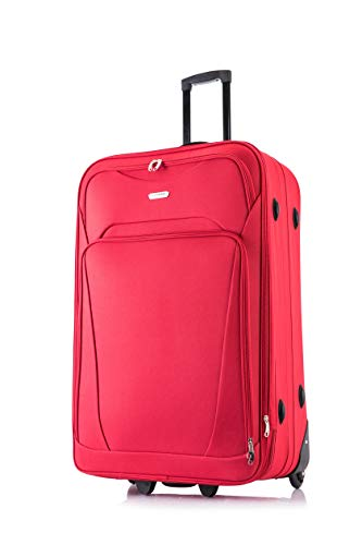 Flymax 26' Large Suitcase Lightweight Luggage Expandable Hold Check in Travel Bag on Wheels