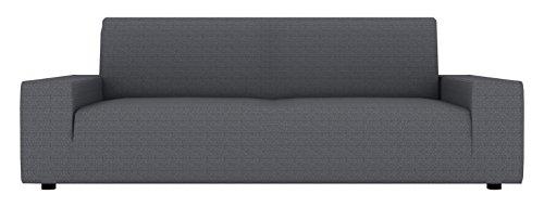 Funda de sofá Eiffel Textil Kivik Designer 3 plazas 180x240 cm gris