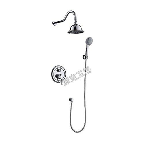 Luxurious shower Badezimmer Produkte Dusche Set Messing ORB Embedded Mixer Ventil verdeckte Dusche Wasserhahn Dusche Badewanne Dusche mit nur einer Funktion, siehe Tabelle