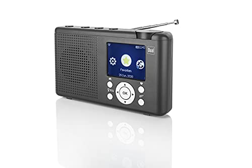 Dual MCR 200 Internet radio da tavolo Internet, DAB+, DAB, FM, radio Internet DAB+, UKW, USB, Bluetooth®