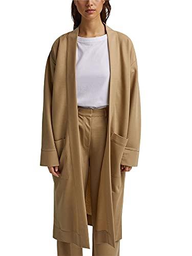 ESPRIT Collection Damen 031EO1G301 Sportjacke, 270/BEIGE, 42