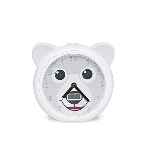 Zazu ZA-BOB-01 Bobby der Bär Schlaftrainer und Kinderwecker, weiß