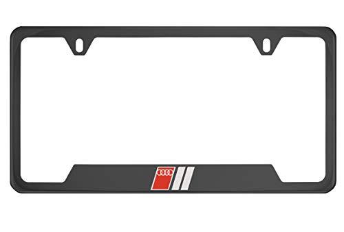 quattro license plate frame - 8