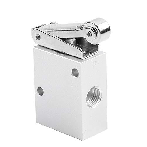 SALUTUYA Válvula mecánica de Rodillo Tipo Rodillo de Rosca PT 1/4, 2 Posiciones, 3 vías, Equipo Industrial para controlar Pilotos