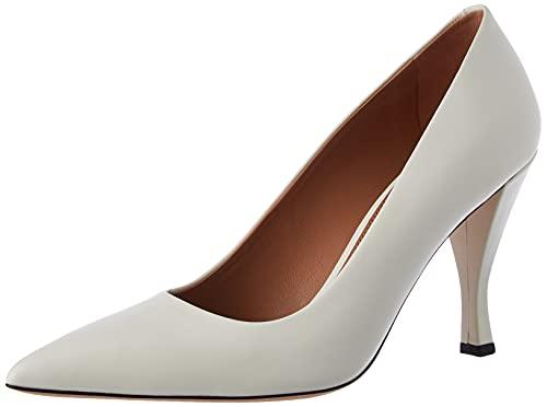 BOSS Zapatos de Mujer Olivia 90-c, Color Blanco, Talla 42 EU